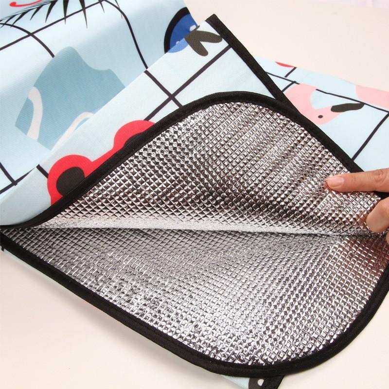レジャーシート 洗える 折りたたみ ふかふか ピクニック マット かわいい