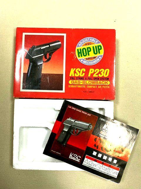 ★KSC★ガスブローバック P230 箱と説明書のみ/本体なし_画像1