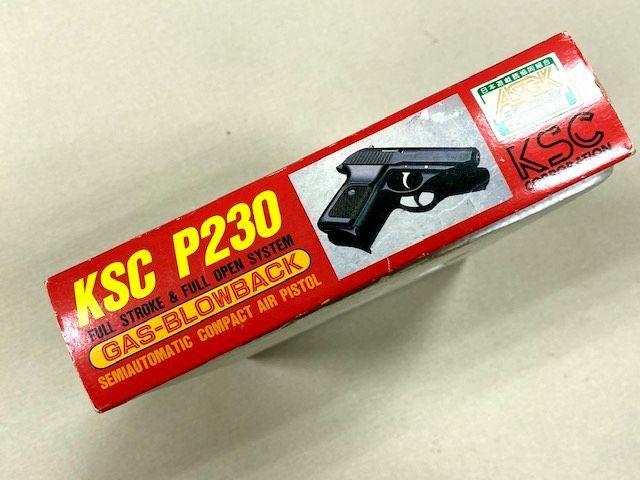 ★KSC★ガスブローバック P230 箱と説明書のみ/本体なし_画像3