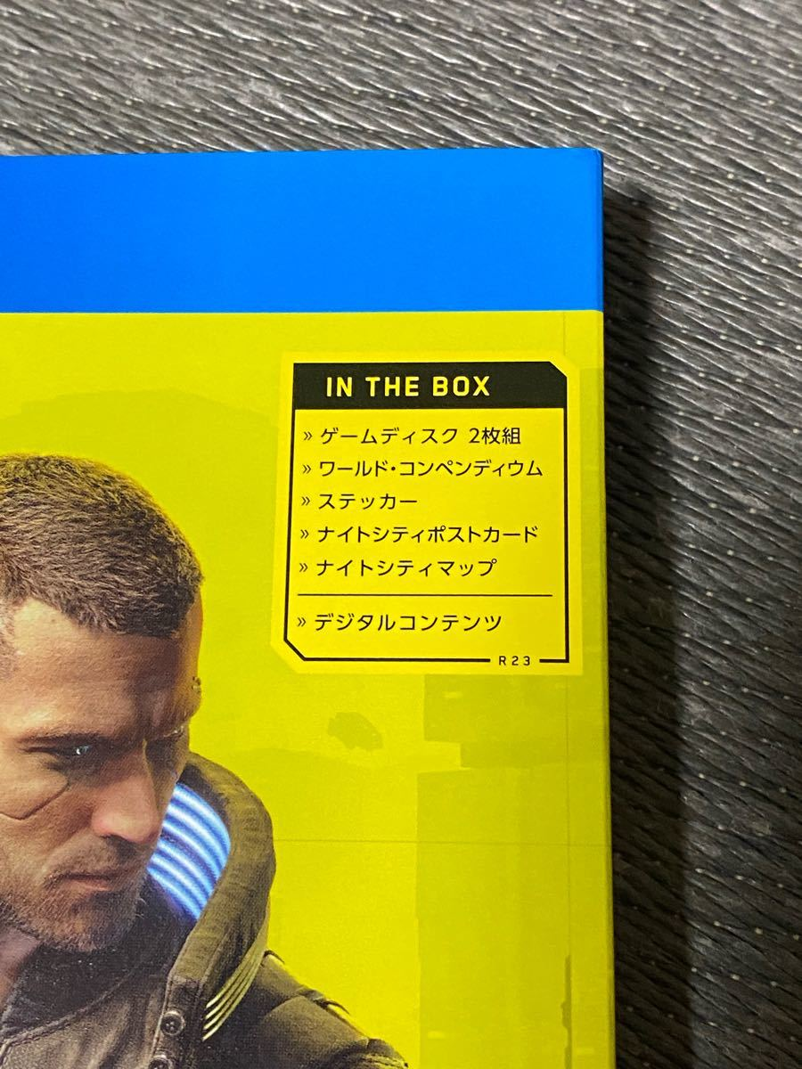 【PS4】サイバーパンク2077 IN THE BOX