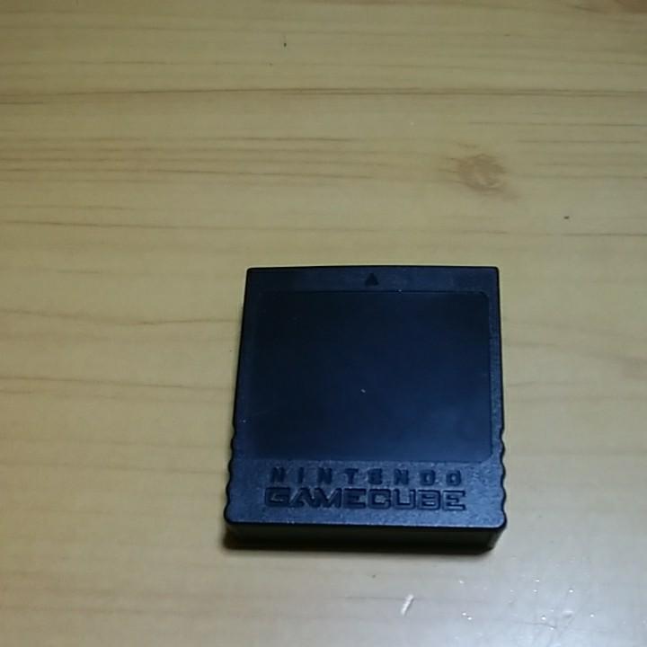 ニンテンドーゲームキューブメモリーカード 純正品