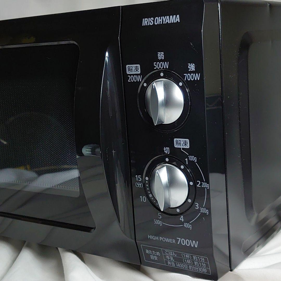 アイリスオーヤマ 電子レンジ フラットテーブル 60Hz 西日本 ケトル 2点セット 美品