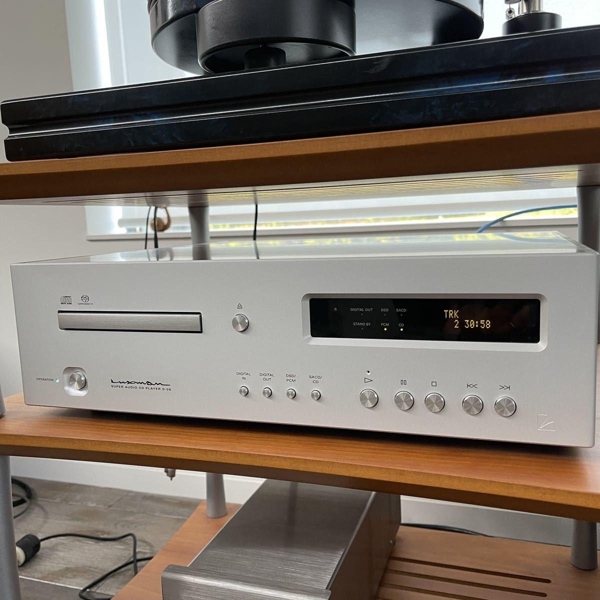 LUXMAN SACDプレーヤー ラックスマン D-06 CD player 美品 ワンオーナー