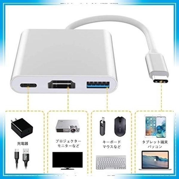 USB Type C HDMI アダプタ 変換アダプタ 多機能 4k 解像度