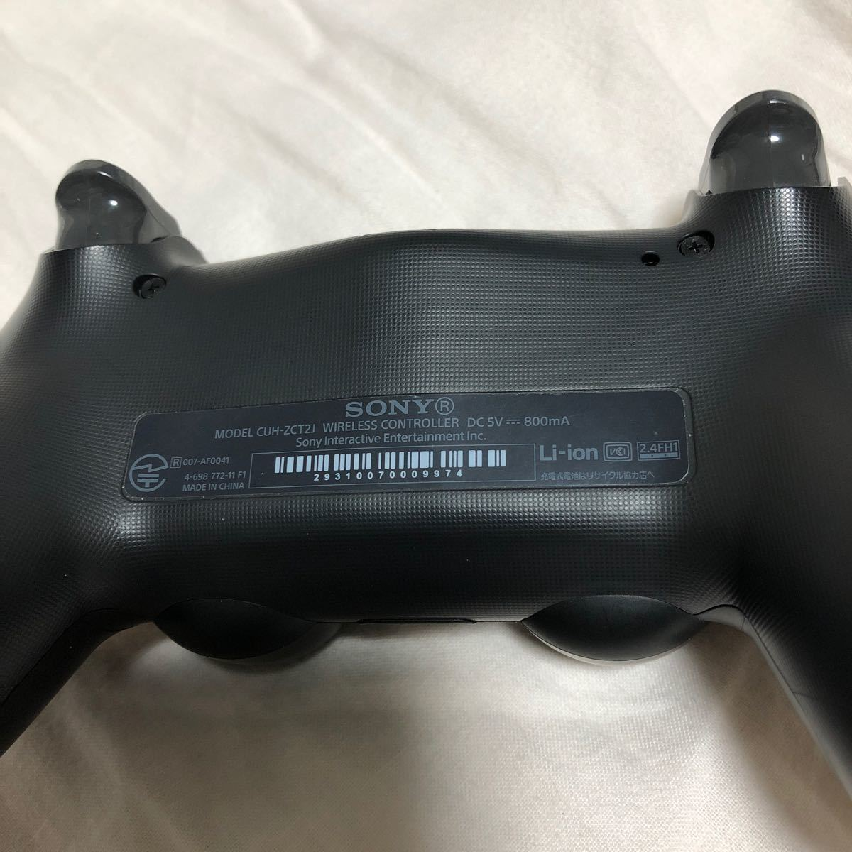 PS4コントローラ DUALSHOCK4 CUH-ZCT2J