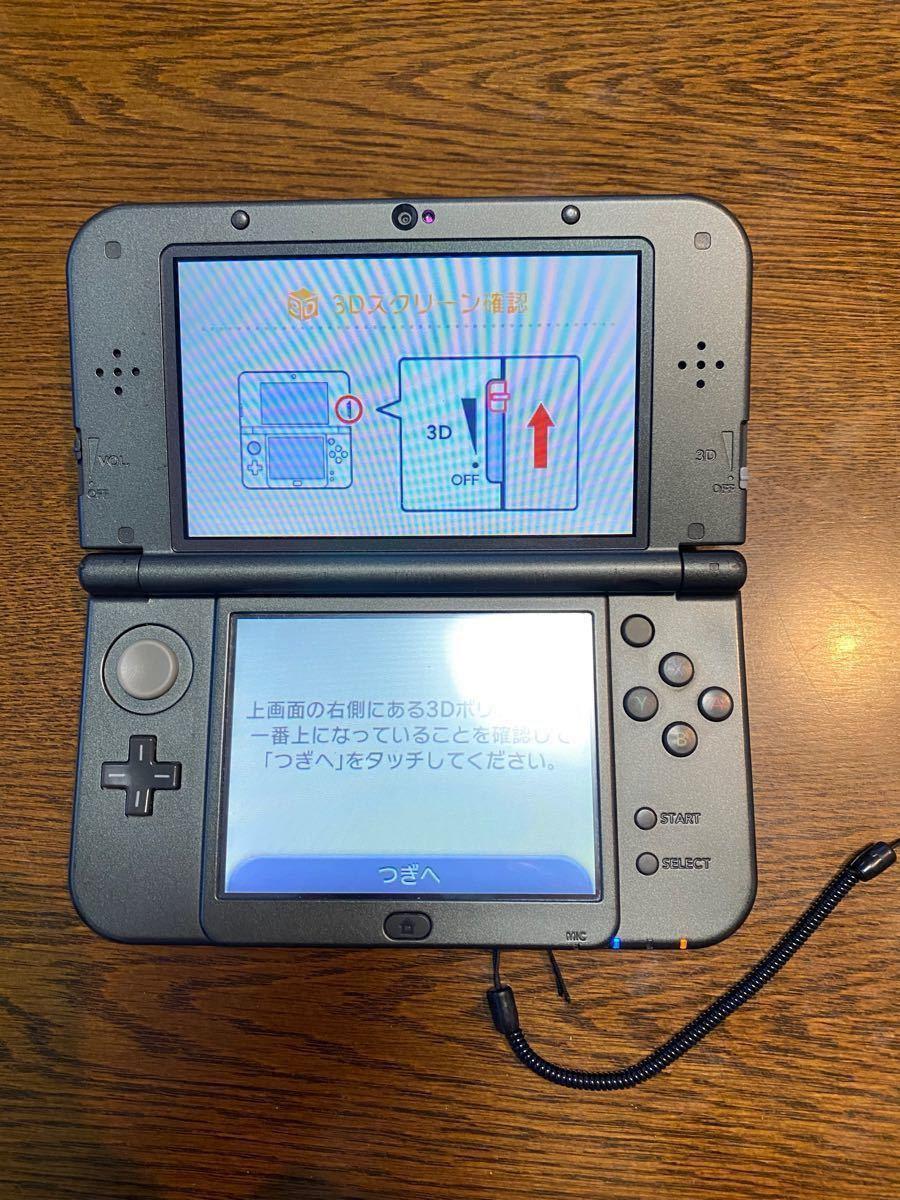 Newニンテンドー3DS LL メタリックブラック 任天堂 ニンテンドー3DS LL Nintendo ソフト7本付き