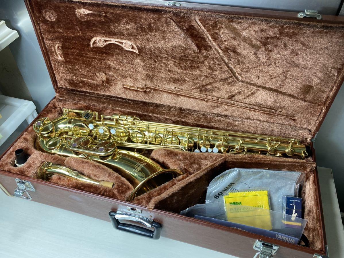 YAMAHA ヤマハ テナーサックス YTS-32 ゴールド 管楽器 ハードケース付き