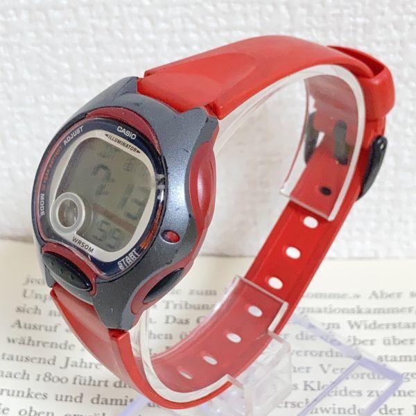 ★CASIO ILLUMINATOR デジアナ 多機能 メンズ 腕時計 ★カシオ イルミネーター LW-200 アラーム クロノ 稼動品 F4329_画像2