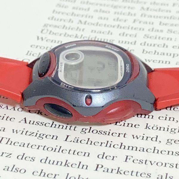 ★CASIO ILLUMINATOR デジアナ 多機能 メンズ 腕時計 ★カシオ イルミネーター LW-200 アラーム クロノ 稼動品 F4329_画像6
