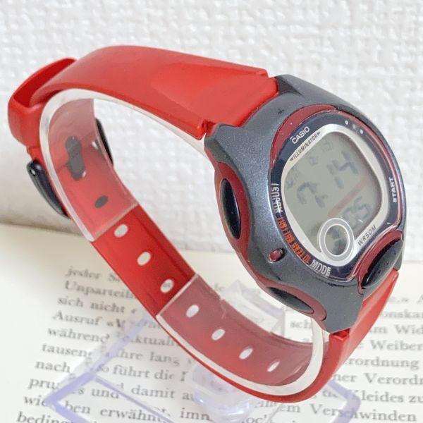 ★CASIO ILLUMINATOR デジアナ 多機能 メンズ 腕時計 ★カシオ イルミネーター LW-200 アラーム クロノ 稼動品 F4329_画像3