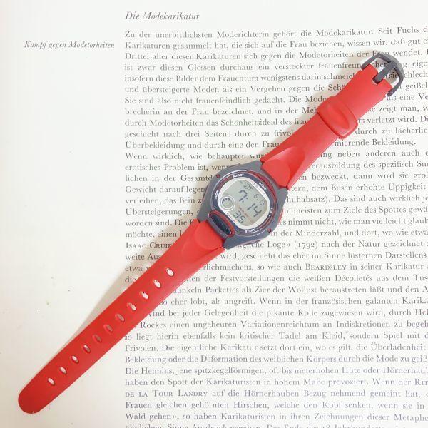 ★CASIO ILLUMINATOR デジアナ 多機能 メンズ 腕時計 ★カシオ イルミネーター LW-200 アラーム クロノ 稼動品 F4329_画像7