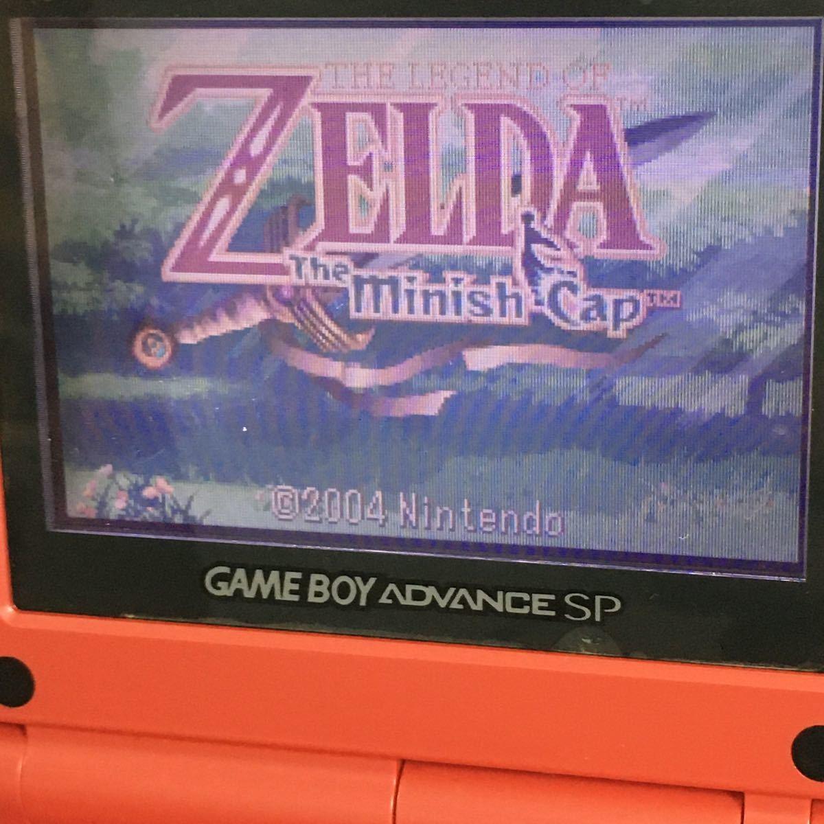 ゲームボーイアドバンス ゼルダの伝説ふしぎのぼうし THE LEGEND OF ZELDA The minish Cap 欧州版