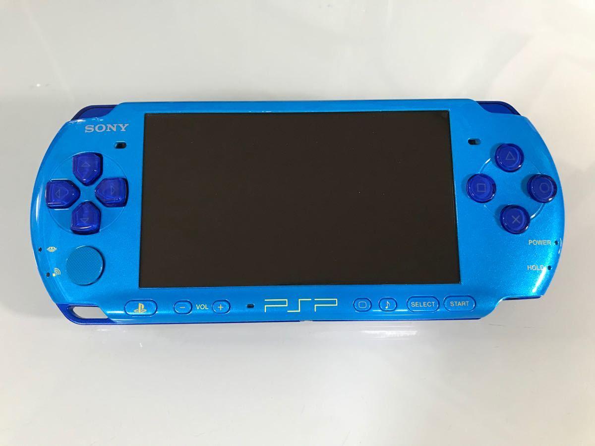 レア PSP-3000  バリューパック スカイブルー/マリンブルー