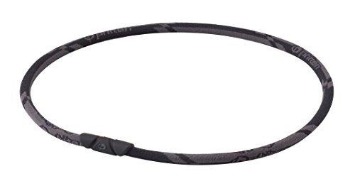 1個限り/ファイテン(phiten) ネックレス RAKUWAネック ゼネラルモデル カーボンブラック 50cm_画像1