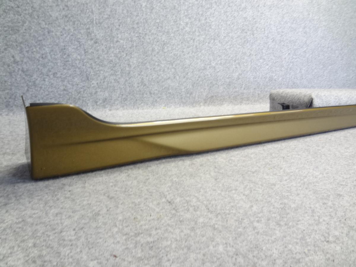 221371/E10 未使用品 タンク M900A モデリスタ MODELLISTA サイドスカート 右側 運転席側 Y14 ゴールド D2611-52110_画像2