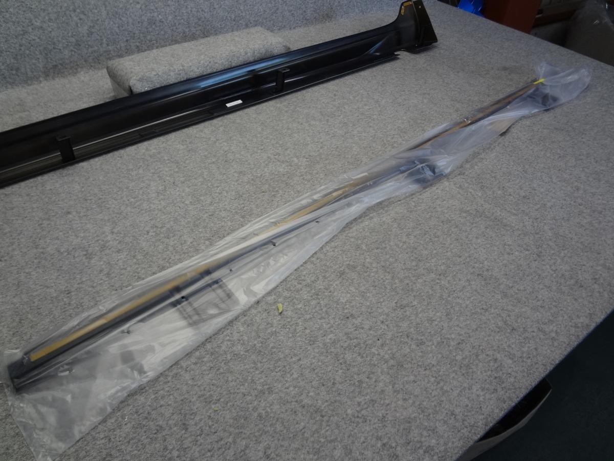 221371/E10 未使用品 タンク M900A モデリスタ MODELLISTA サイドスカート 右側 運転席側 Y14 ゴールド D2611-52110_画像8