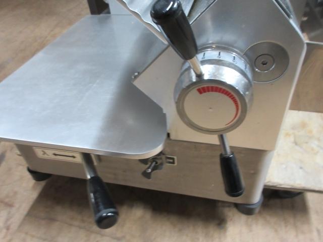 05-42120 中古 南常 冷凍肉スライサー NF-280 業務用 なんつね 食品加工 厨房機器 小型卓上タイプ スライサー _画像4