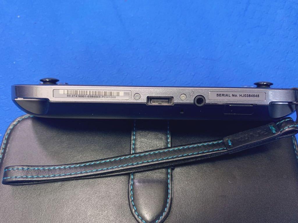 PS Vita PCH-1000 psvita本体 充電器 ゲームソフト スタンド 保護ケース 16GBメモリーカード 付き、中古品_画像4