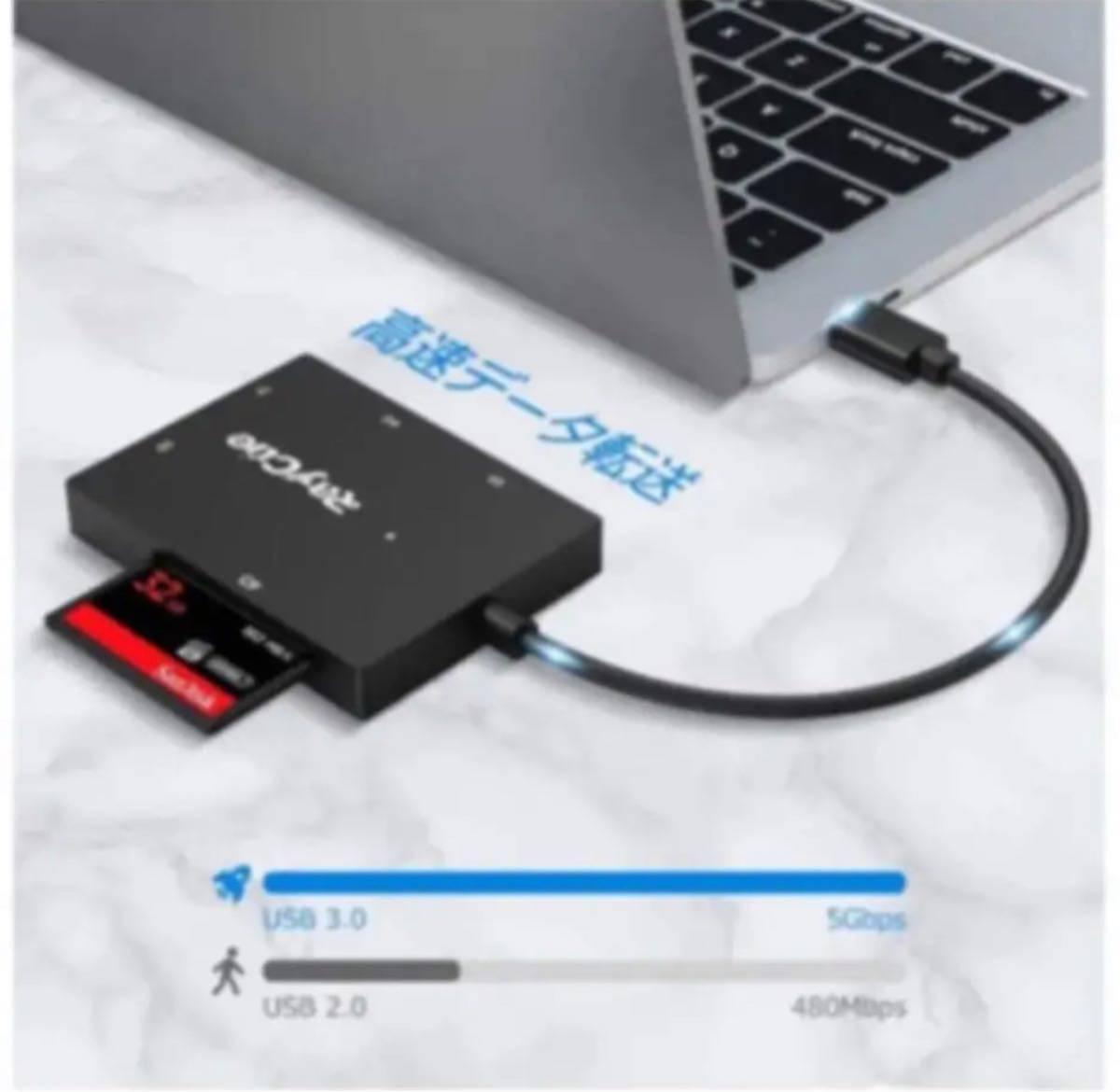 CF カード リーダー USB 3.0 SD カード リーダー