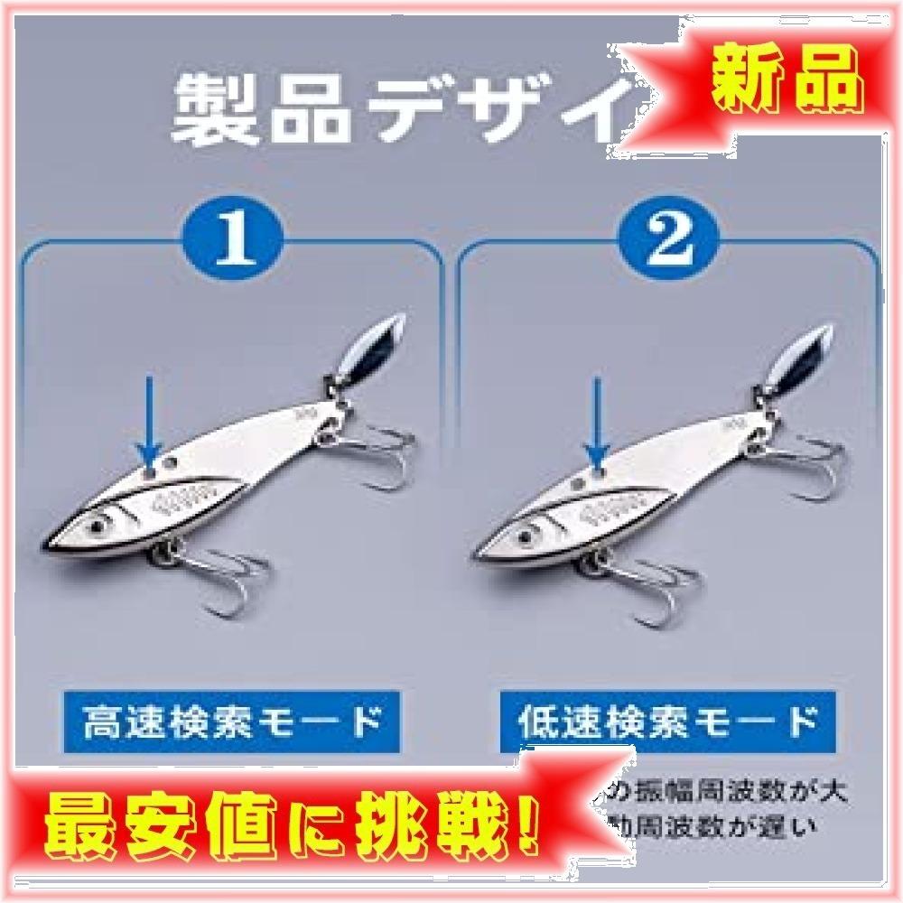 【新品★即日発送】 : 20g*5個 LDT ルアー VIBメタルジグ セット バイブレーション 遠投 必殺ヒラメ 海釣り シ_画像3