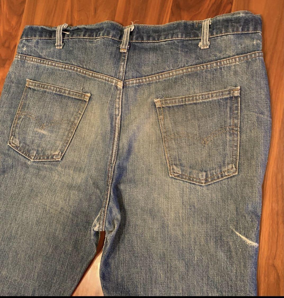 OLD リーバイス 517 ボタン裏8 実寸約102cm vintage デニム パンツ ジーンズ Levi's 501 505 BIGE_画像5