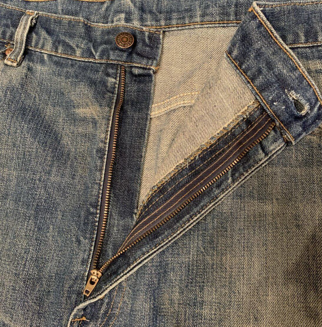 OLD リーバイス 517 ボタン裏8 実寸約102cm vintage デニム パンツ ジーンズ Levi's 501 505 BIGE_画像9