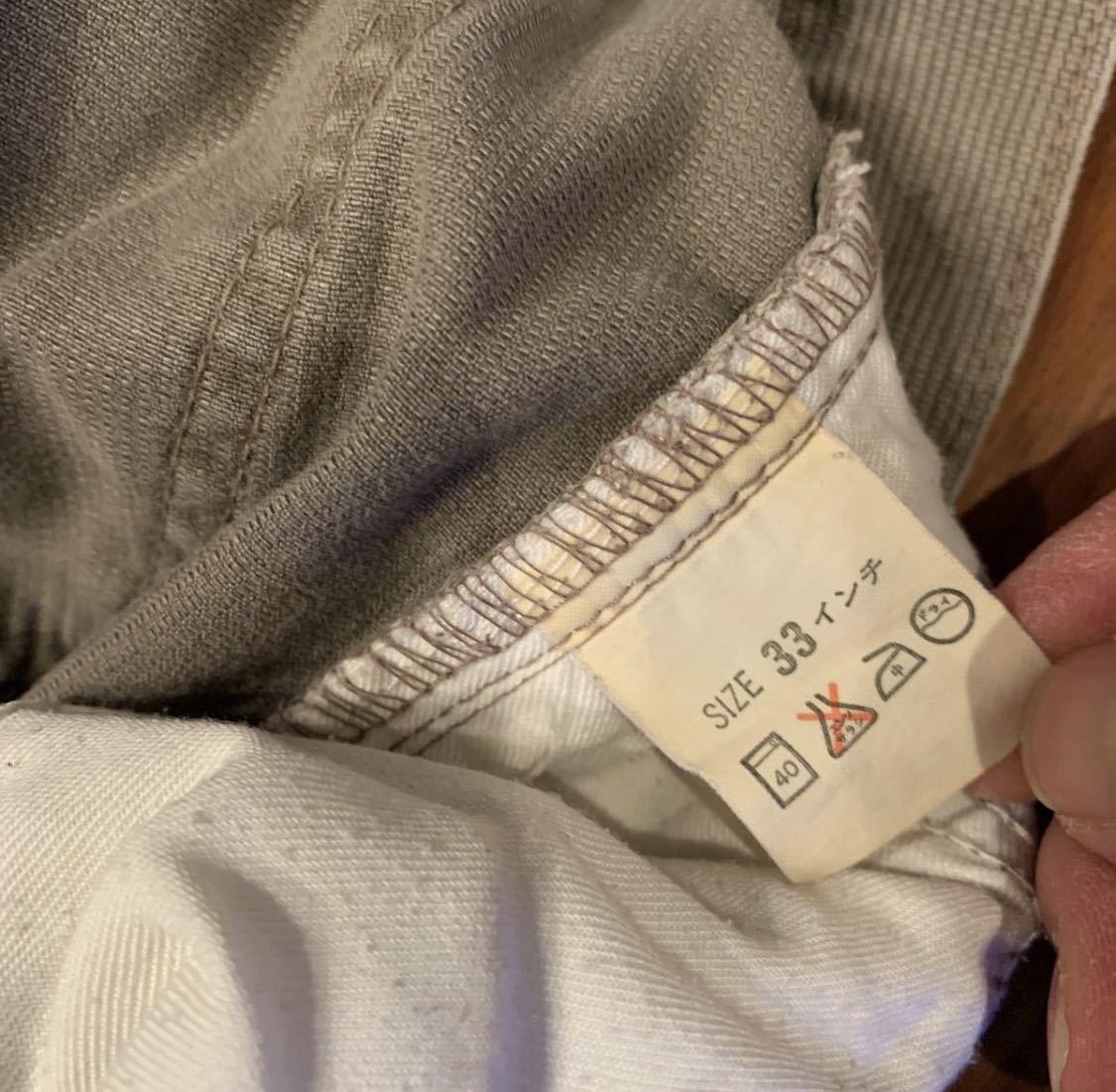日本製 キレイ リーバイス 513 BIG E ストレート コーデュロイ W33 細畝 90s Levi's vintage 519 517_画像9