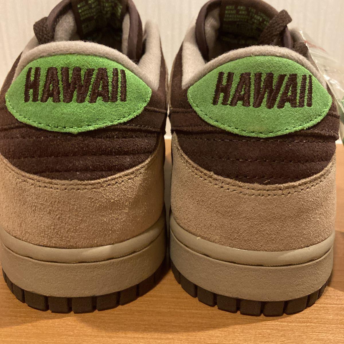 未使用 NIKE DUNK LOW KICKS HAWAII US11.5 29.5cm 送料込 ナイキ ダンク キックス ハワイ 未使用 AIR kicks hi (sbjordan_画像4
