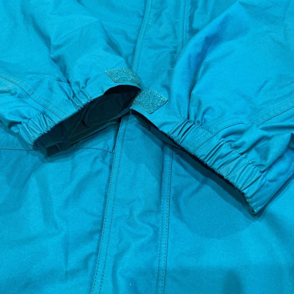 キレイ! patagonia 00年 ストームジャケット L エメラルドグリーン パタゴニア storm jacket マウンテンパーカー ナイロンジャケット_画像3