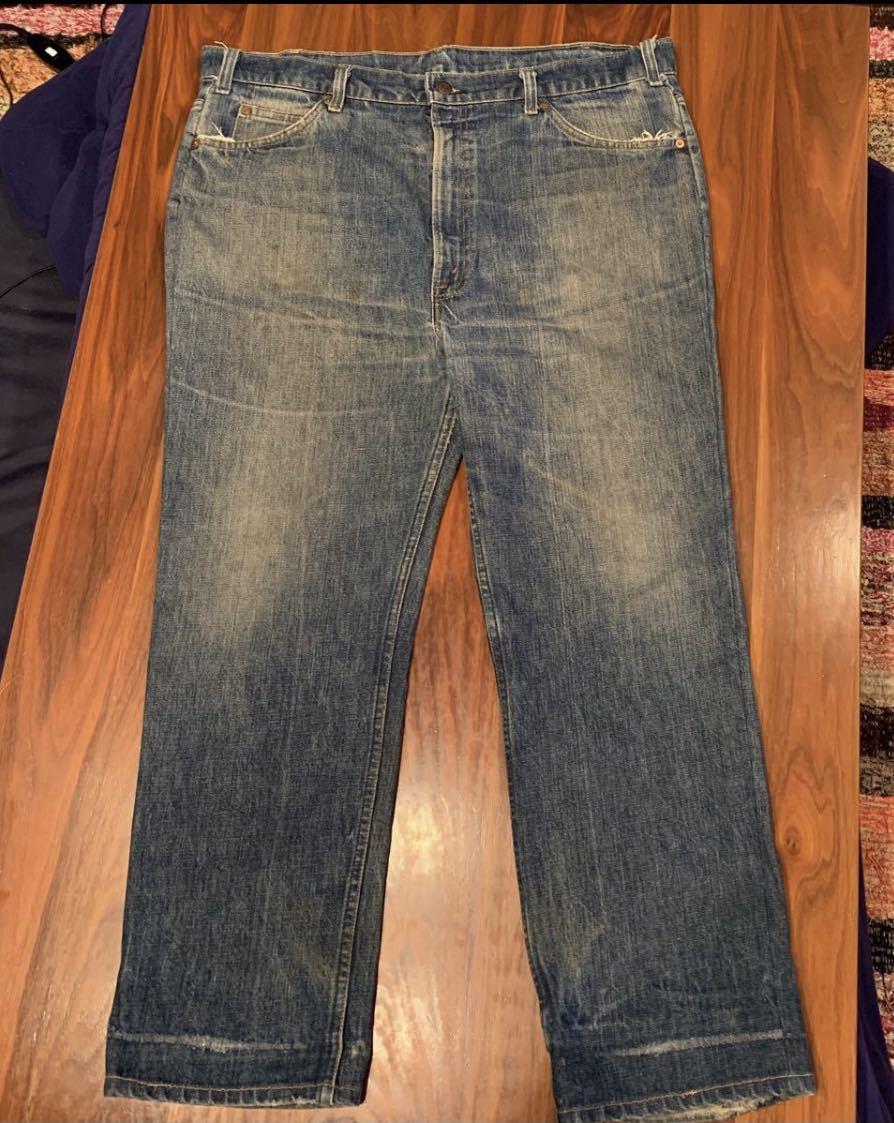 OLD リーバイス 517 ボタン裏8 実寸約102cm vintage デニム パンツ ジーンズ Levi's 501 505 BIGE_画像1
