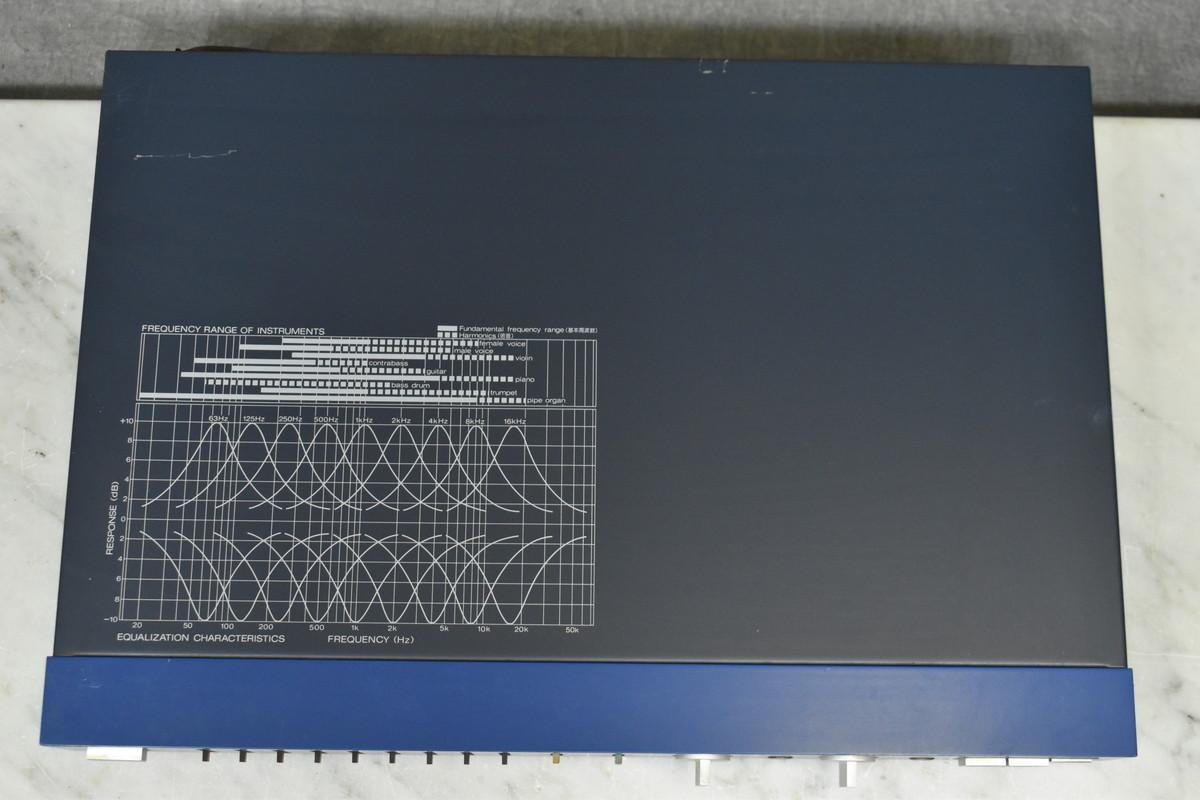 SONY ソニー SEH-310 ハイブリッドグラフィックイコライザー_画像3