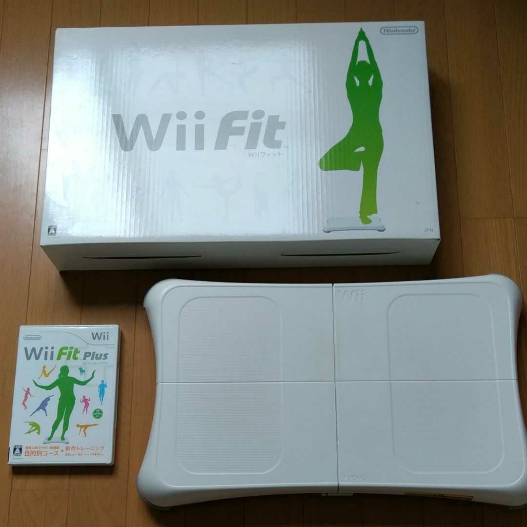 wii Fit Plusソフト バランスボード セット
