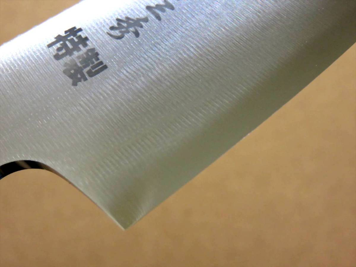 関の刃物 キャンピングナイフ 9.5cm (95mm) サバイバルナイフ ハンティングナイフ 魚釣り アウトドア包丁 左利き用 本革鞘付き 国産日本製