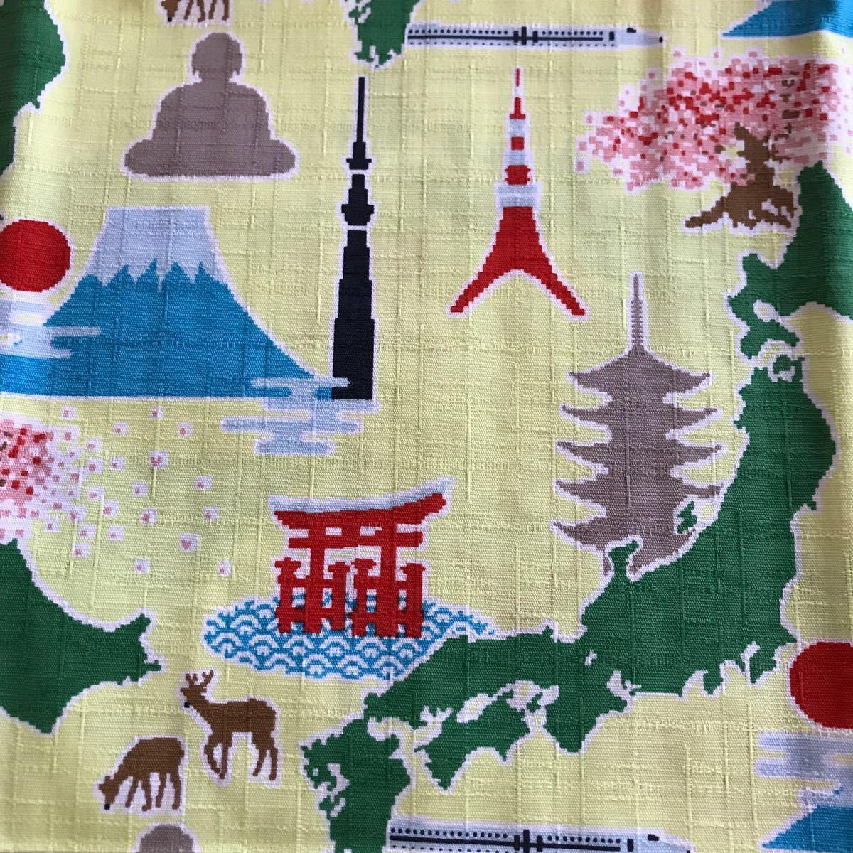 生地 はぎれ 日本の名所 和柄