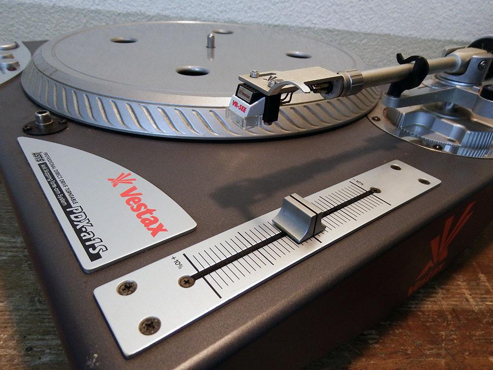 ◆ レコードプレーヤー Vestax PDX-a1S 二台セット ■YFAD00002077_画像2