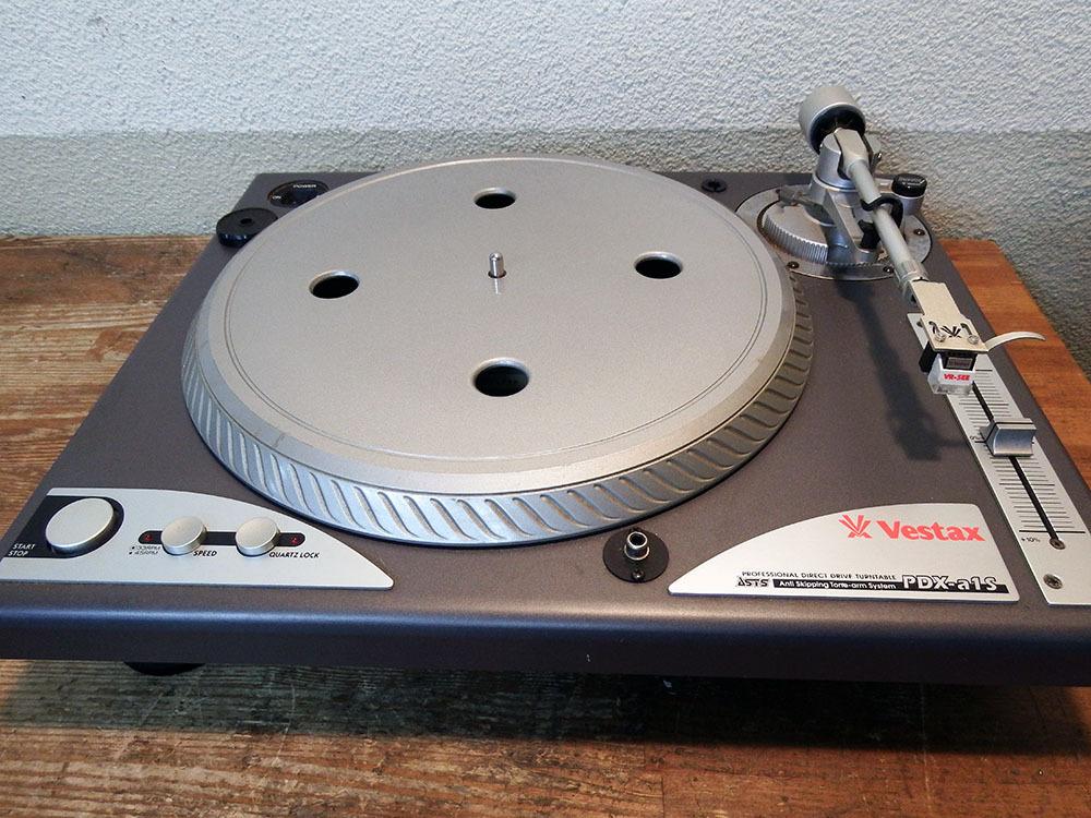 ◆ レコードプレーヤー Vestax PDX-a1S 二台セット ■YFAD00002077_画像1