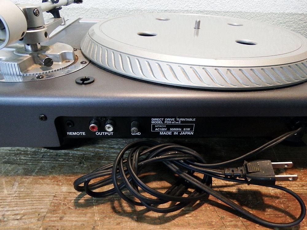 ◆ レコードプレーヤー Vestax PDX-a1S 二台セット ■YFAD00002077_画像3