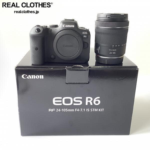 Canon/キャノン EOS R6 RF 24-105mm F4-7.1 IS STM ミラーレス一眼カメラ レンズキット /080