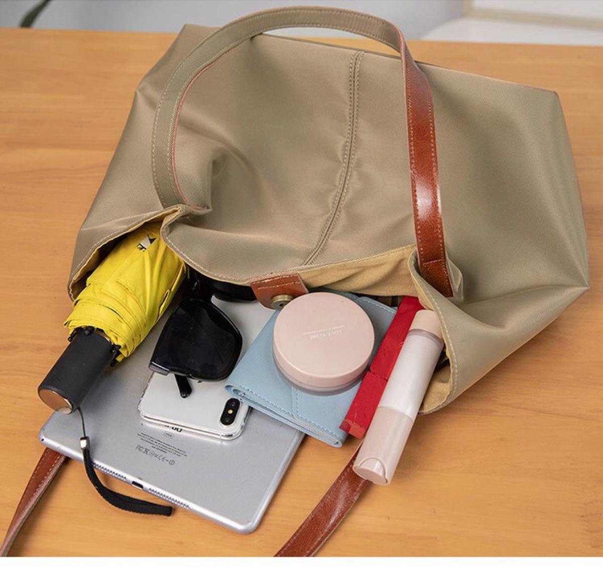 トートバッグ レディース ショルダーバッグ 大容量 インナーバッグ付き バッグインバッグ 2way 通勤バッグ 大きい