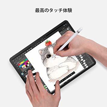 【大特価】11 inch NIMASO ガイド枠付き ガラスフィルム iPad Air 第4世代 用 iPad Pro 11 第2世代 第_画像5
