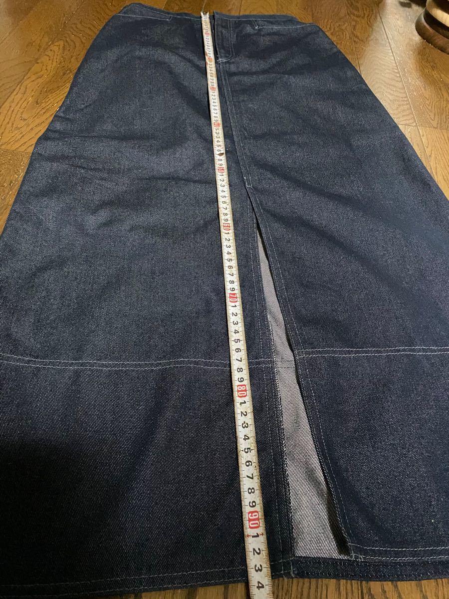 ロングスカート デニムスカート デニムタイトスカート