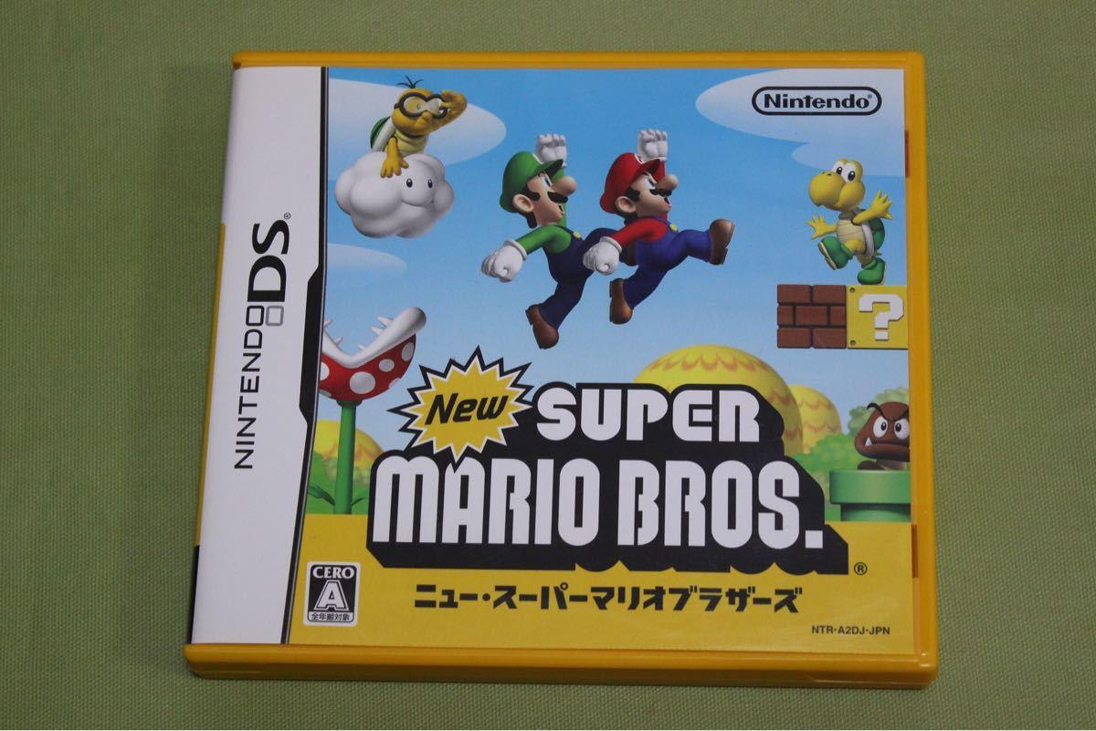 任天堂DSソフト  ニュー・スーパーマリオブラザーズ
