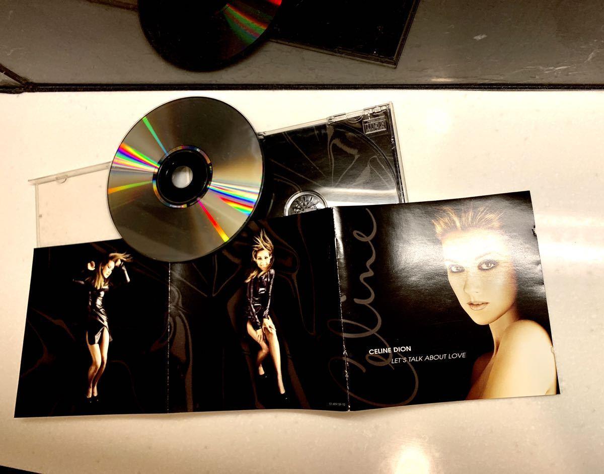 ★【送料無料】★【セリーヌ・ディオン/レッツ・トーク・アバウト・ラヴ】★【Celine Dion・Let's Talk About Love 】【Great product】