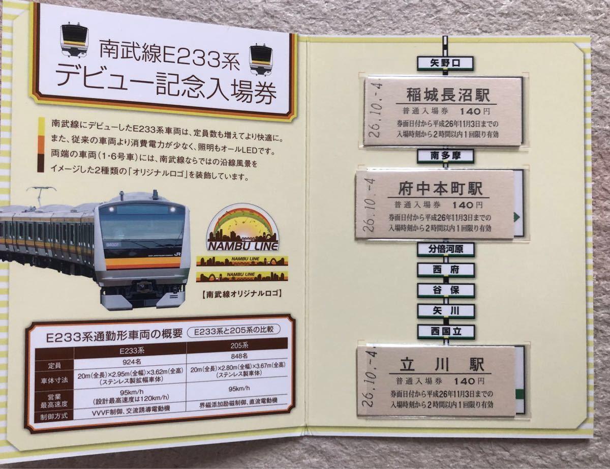 記念乗車券 JR東日本