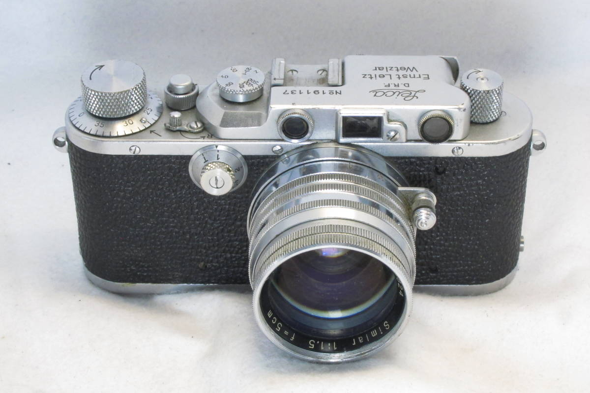 希少 Leica Ⅲa Simlar 1:1.5 f=5cm Tokyo Opt.Co.