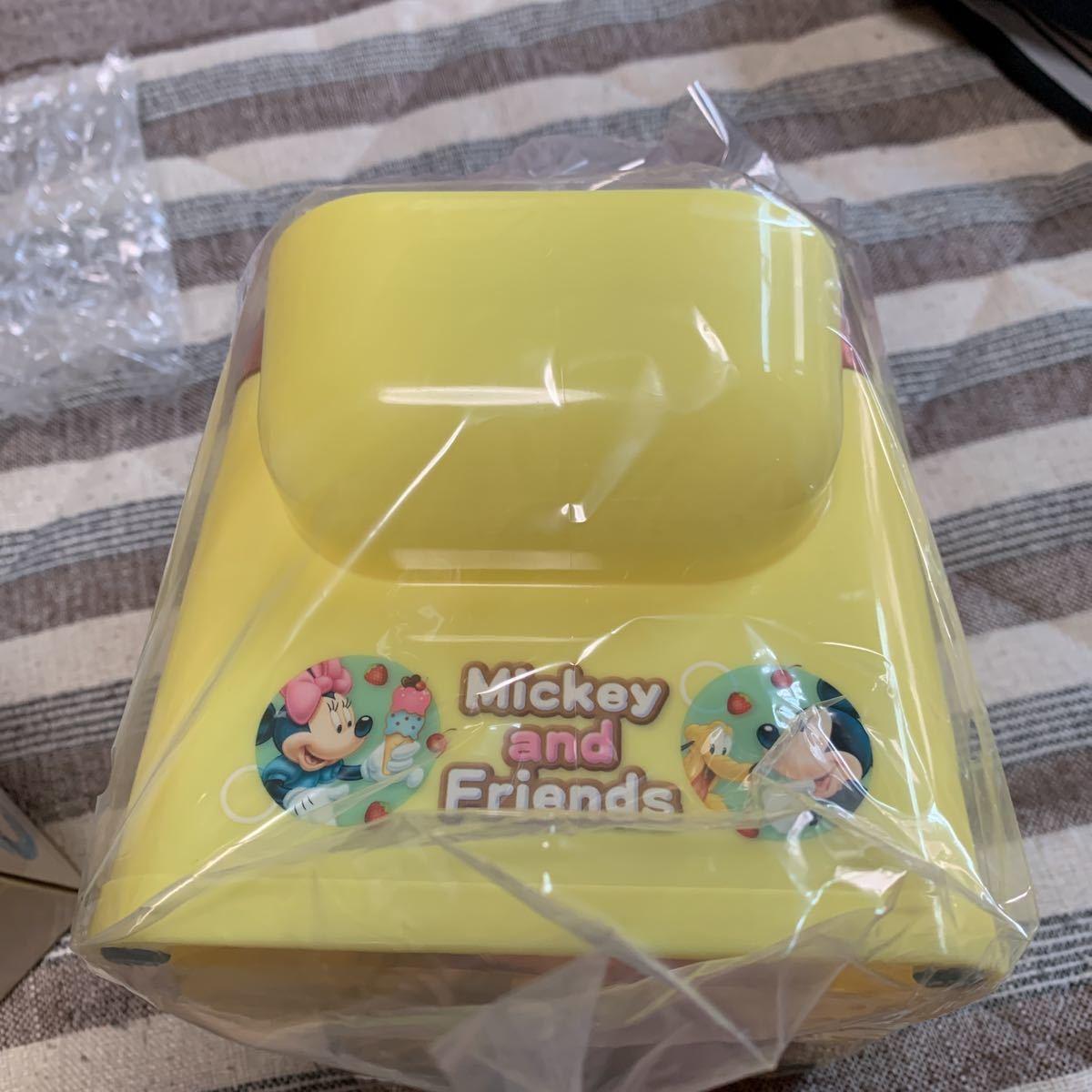 新品◆ディズニー ミッキーフレンズ アイスクリームメーカー