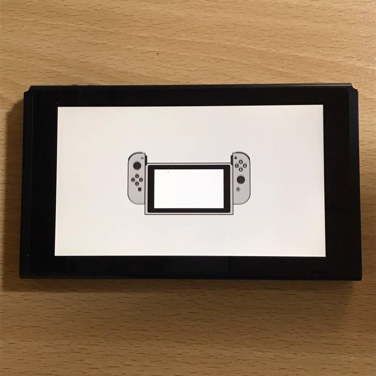 動作確認済み ニンテンドースイッチ Nintendo Switch HAC-001(01) 2019製 新型 バッテリー拡張 本体のみ スタンド欠品 任天堂 SC-238_画像1