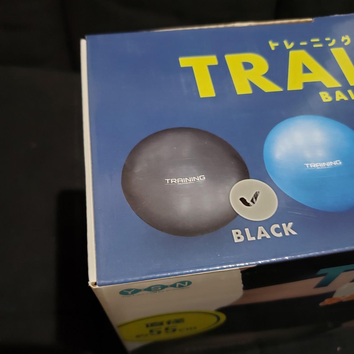 《箱無し値引き♪》トレーニングバランスボール ブラック