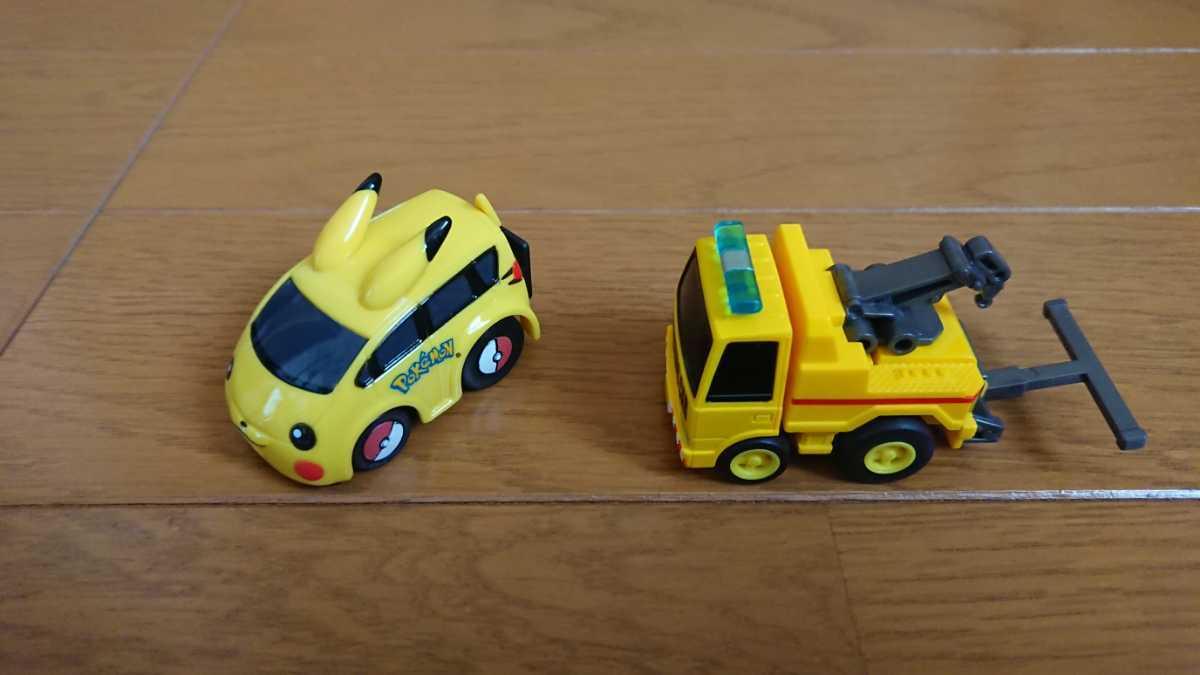チョロQ カブトムシ クワガタ バットモービル カーズ マックイーン 建設車両 ピカチュウ いろいろ14台セット_画像8