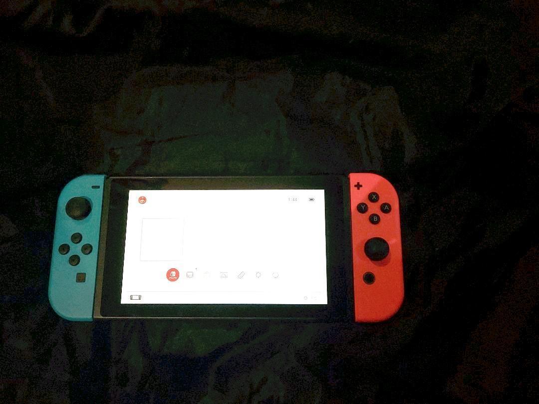 Nintendo Switch Joy-Con (L) ネオンブルー / (R) ネオンレッド  任天堂 ニンテンドースイッチ_画像2